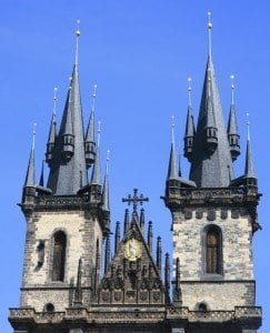 Las torrres más fotografiadas de Praga