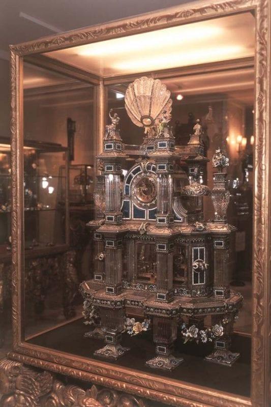 Lisboa. Casa-Museu Medeiros e Almeida_reloj_