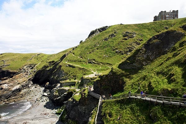 Tintagel Castle panoramica Nani Arenas
