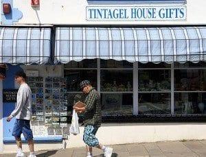 Tienda de recuerdos en Tintagel
