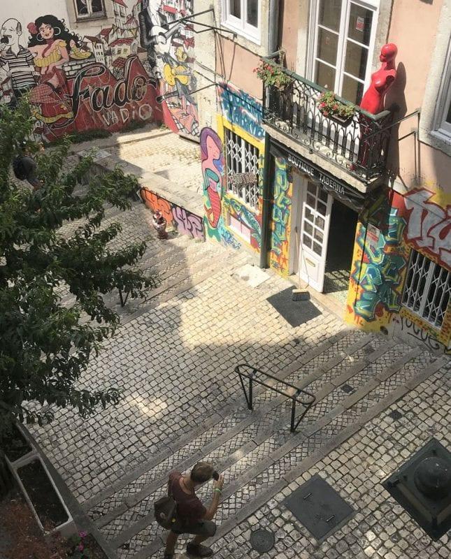 Callejón de Lisboa