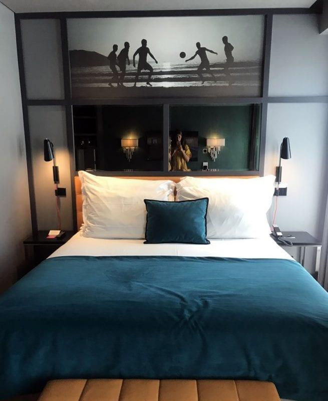 Habitación standard en el hotel CR7 de Lisboa
