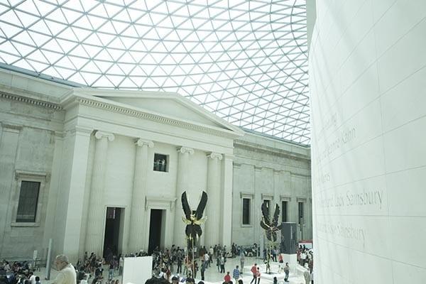 Los imprescindibles qu debes ver en el museo brit nico for Avvolgere le planimetrie del portico