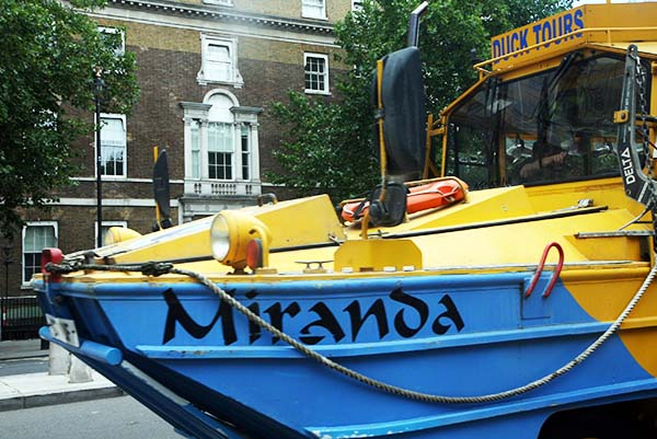 "El London Duck Tour es una aventura para ""anfibios"""