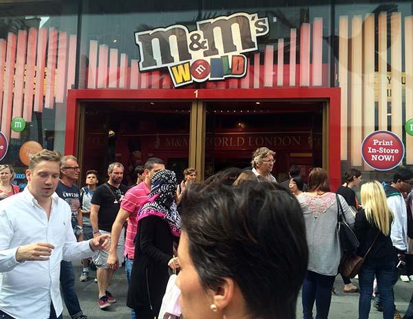 Puerta de M&Ms world