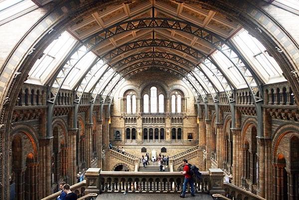 Panorámica del museo desde la segunda planta