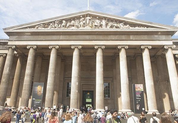 Fachada principal del museo britanico