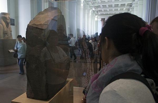 La piedra Rosetta es una de las piezas más valiosas del museo