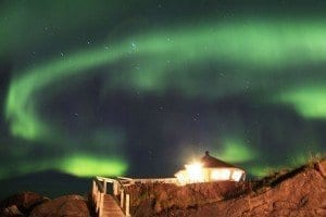 Aurora boreal Senja nani arenas blog