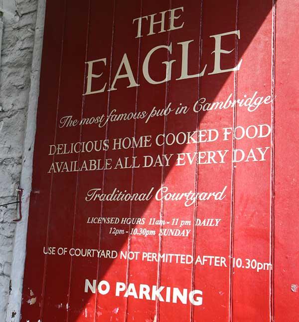 El Eagle está en Bene't Street