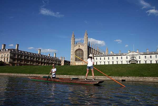 """El """"back"""" del King's College es uno de los más monumentales"""