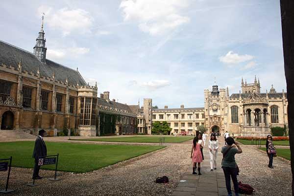 El Trinity es el más aristocrático de los 31 colegios universitarios de Cambridge