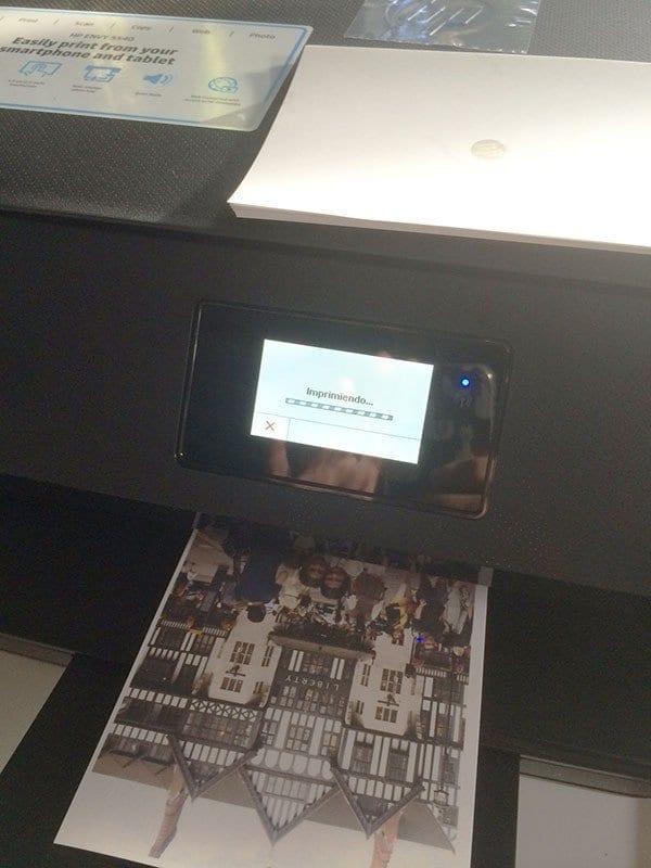 HP Pavilion x2 impresora