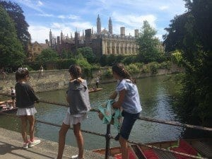 Una de las fotos más típicas de Cambridge