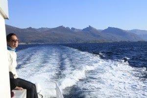 Navegar para pescar o para disfrutar del paisaje es siempre una delicia