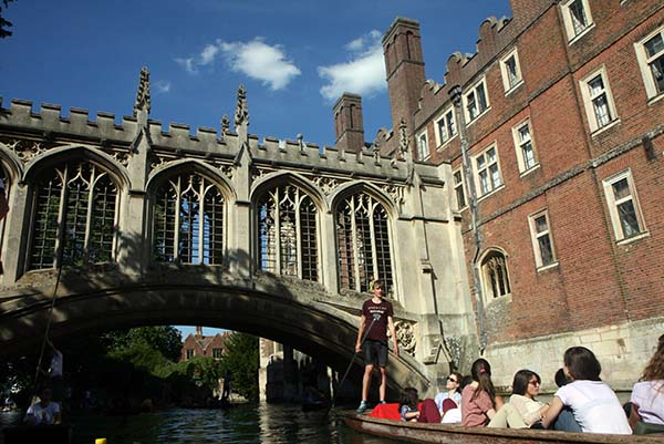 Puente suspiros gondola blog cambridge