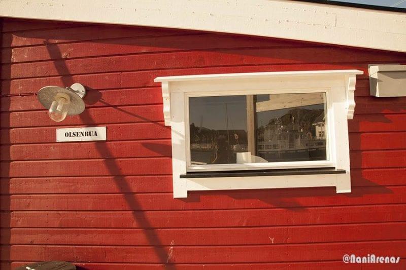 El rojo es el color dominante en Noruega