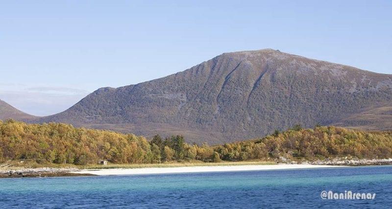 Las playas del norte de Noruega son paradisiacas