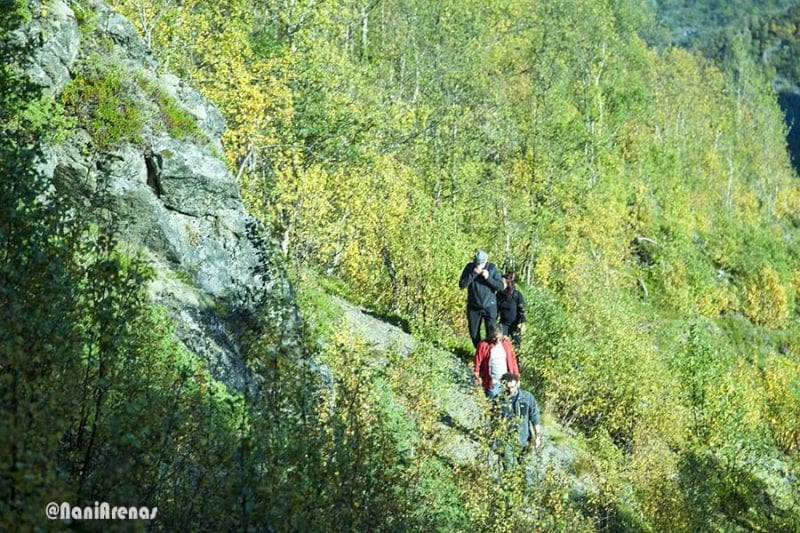Noruega es un paraíso para amantes del senderismo