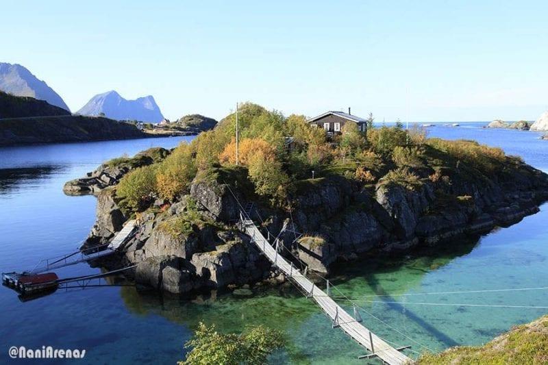 En la isla de Senja hay estampas idílicas como esta