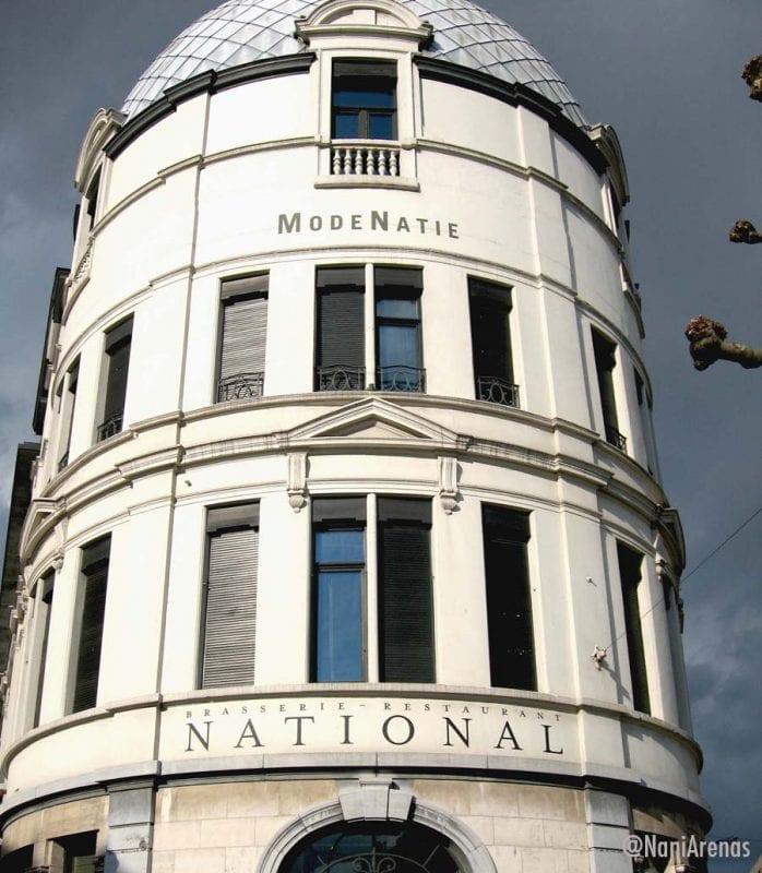 El ModeNatie está en Nationalstraat