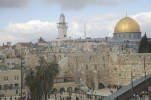 Panorámica de la actual Jerusalén