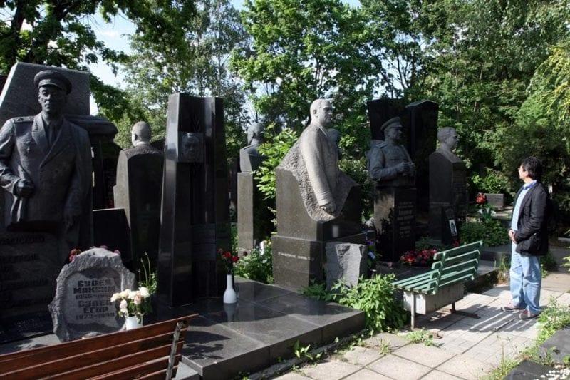 Cementerio Novodevichy de Moscú
