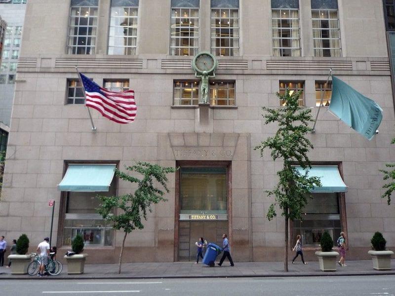 El escaparate de Tiffany's es uno de los más fotografiados de Manhattan