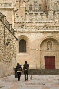 Salamanca, ciudad ideal para el paseo