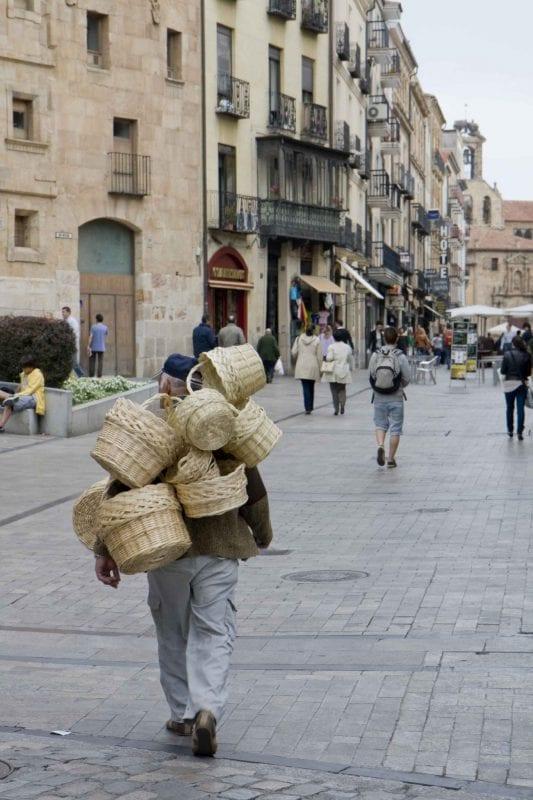 Salamanca señor de las cestas