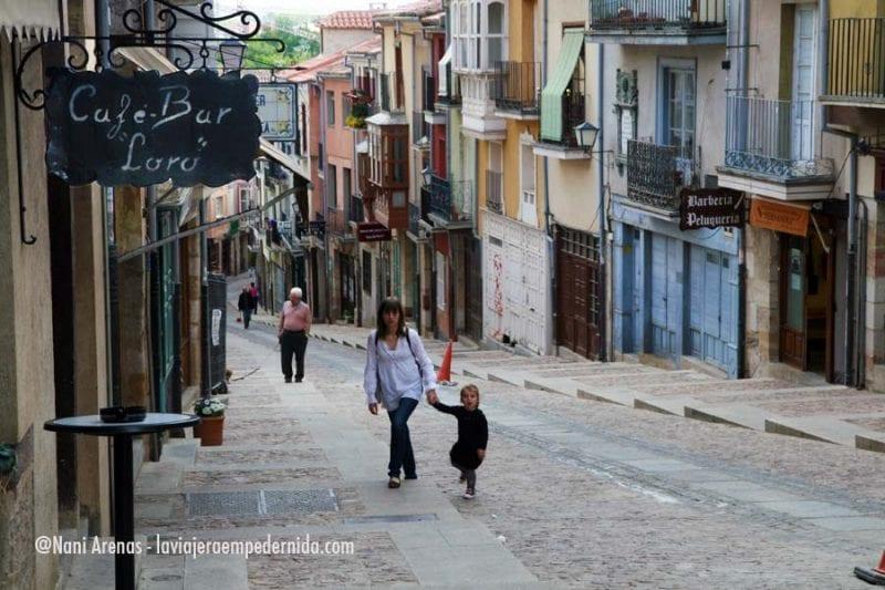 Zamora calle niña nani arenas blog