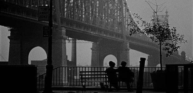 La escena más famosa de Manhattan, de Woody Allen
