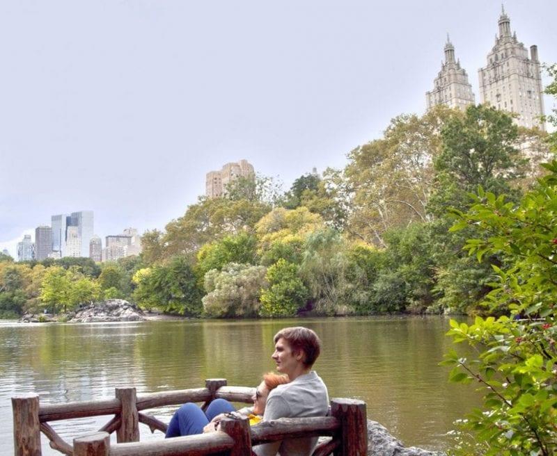 Central Park está lleno de rincones románticos