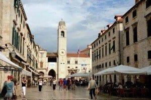 La torre del relón es una referencia en Dubrovnik