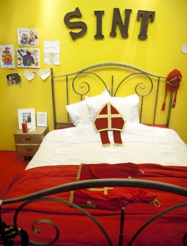 La cama de San Nicolás