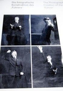 Imágenes en las que se aprecia como Hitler preparaba sus discursos durante el proceso de creacion del führer