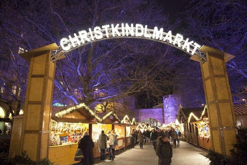 El primer mercadillo de Navidad en Munich abrió en 1310