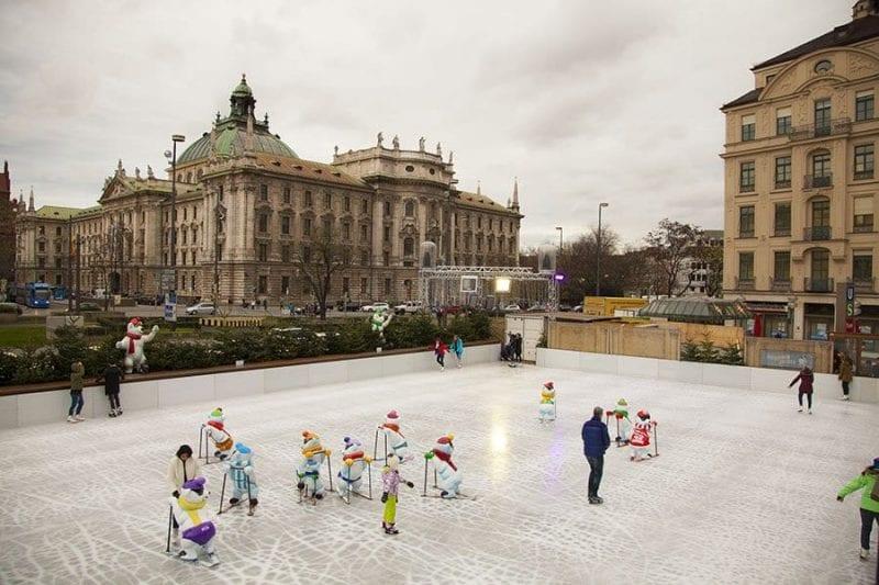 Munich pista patinaje