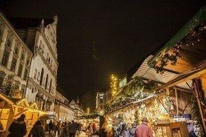 Las calles de Munich en Navidad están llenas de gente