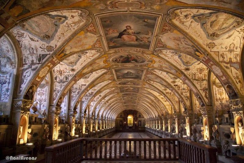 El salón Antiquarium original era de 1571
