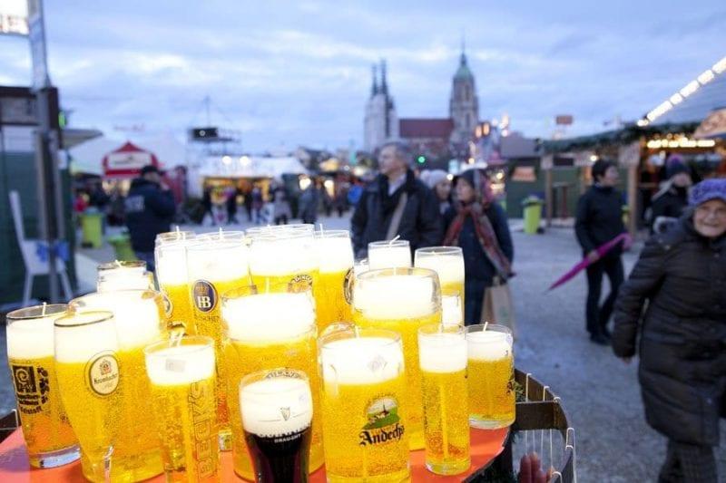 La cerveza, siempre presente en Munich