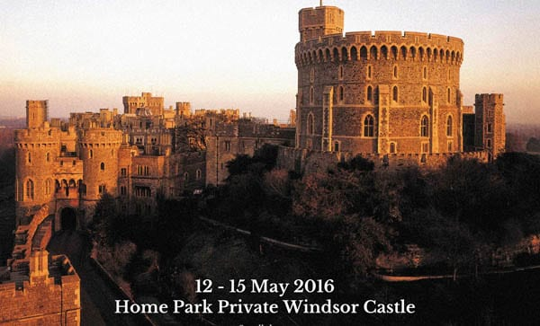 A castillo de Windsor se llega en tren desde Londres