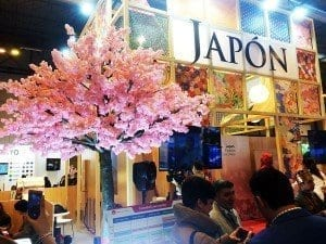 Stand de Japón en Fitur 2016