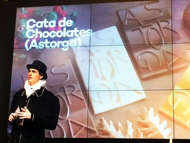 Astorga presentó su oferta chocolatera