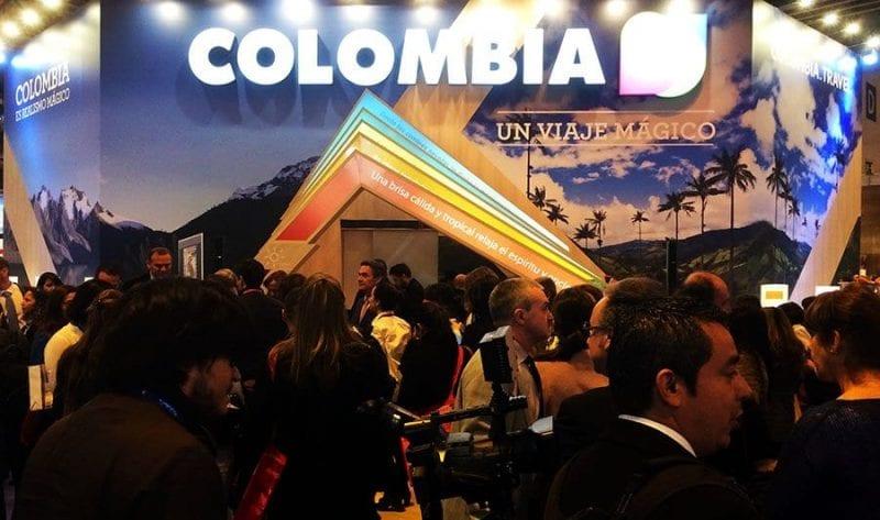 stand de Colombia en Fitur 2016