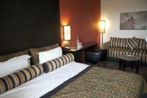 Detalle de una habitación del hotel Mamilla