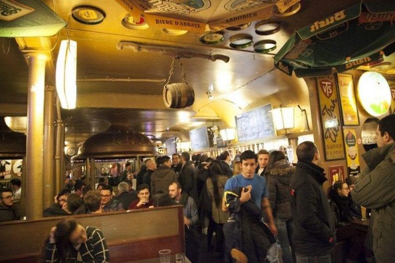 El Delirium Tremens ostenta el record guines por ser el que más cervezas tiene en la carta