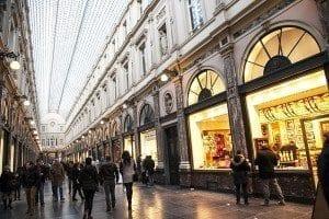Las galeries Royales Saint-Hubert están muy cerca de la Grand Place