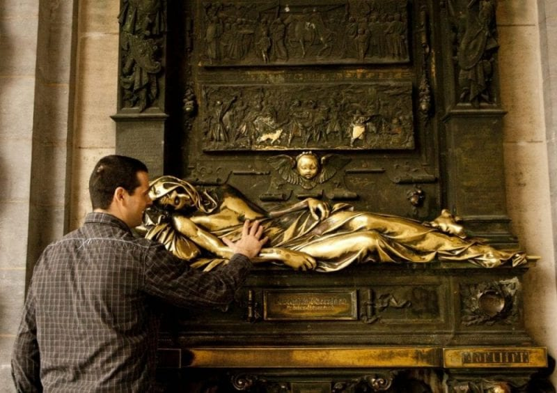 Everard t'Sterclaes fue un héroe durante la Guerra de Sucesión del Condado de Bramante (1356-1357)