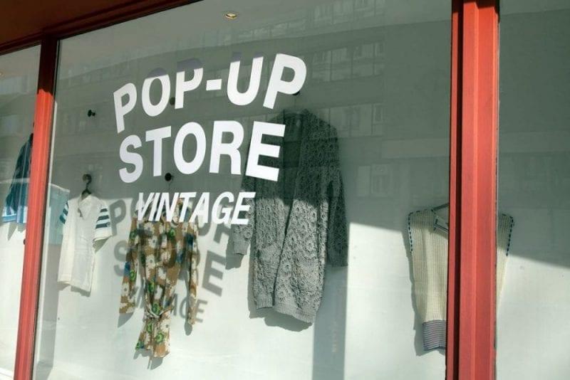 El fenómeno pop up stores también ha llegado a Bruselas